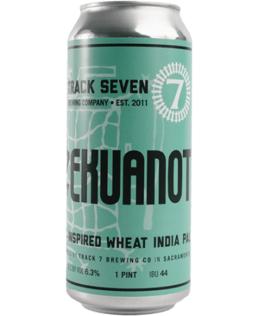 Track 7 Azekuanot wheat India Pale Ale beer can 16oz